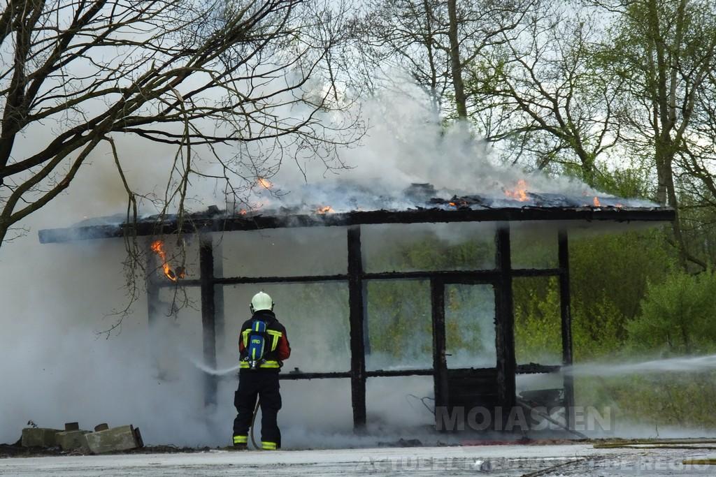 Oude verkeerspark aan de Haar in Assen valt weer ten prooi aan brandstichting