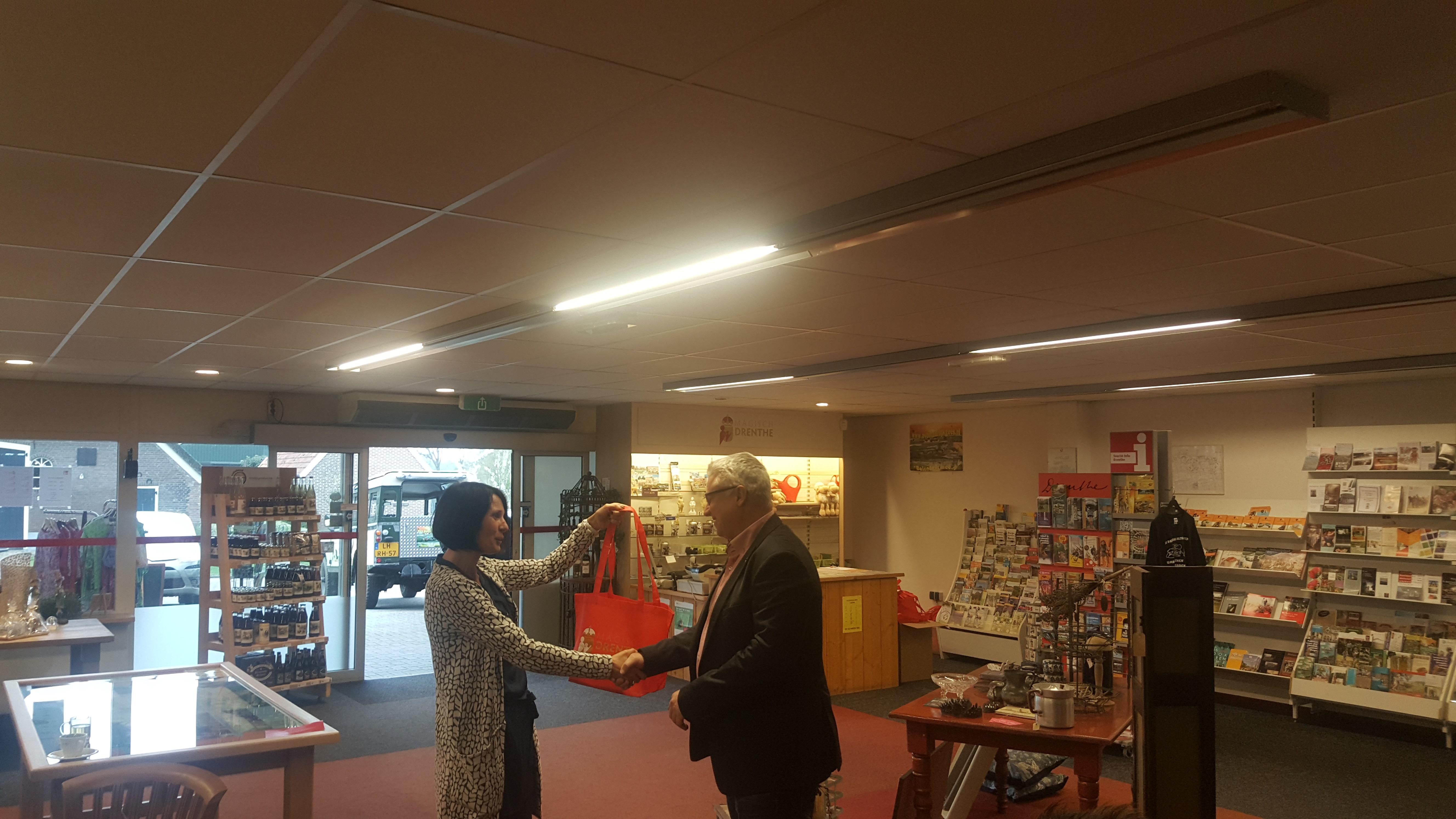 Opening van het toeristisch seizoen Magisch Drenthe door wethouder Zwiers