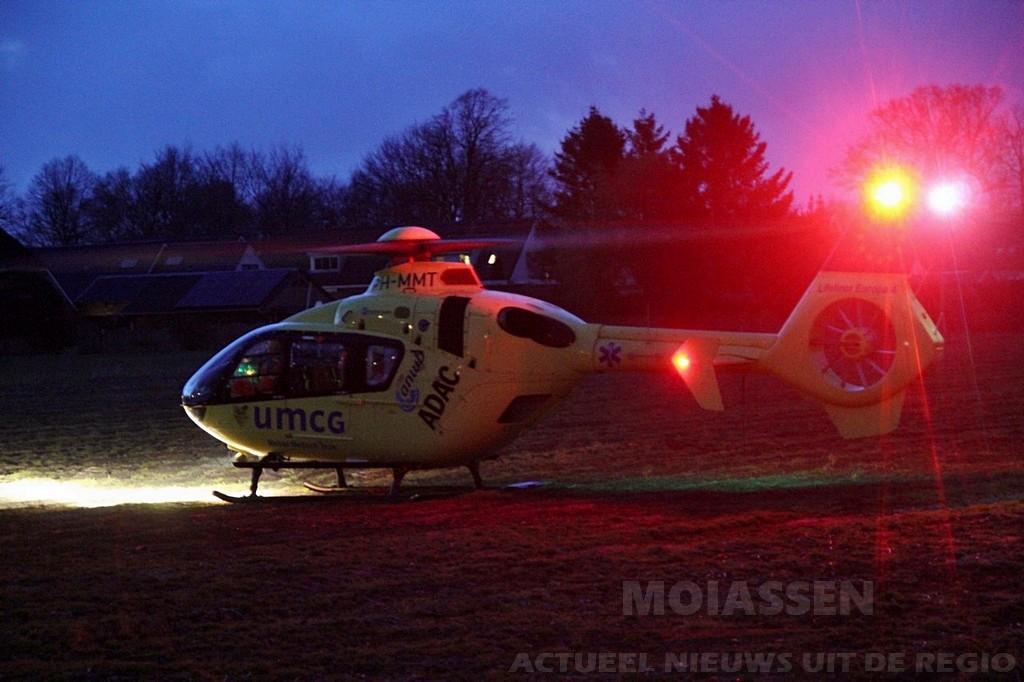 Mobiel Medisch Team gealarmeerd voor hulpverlening in Smilde