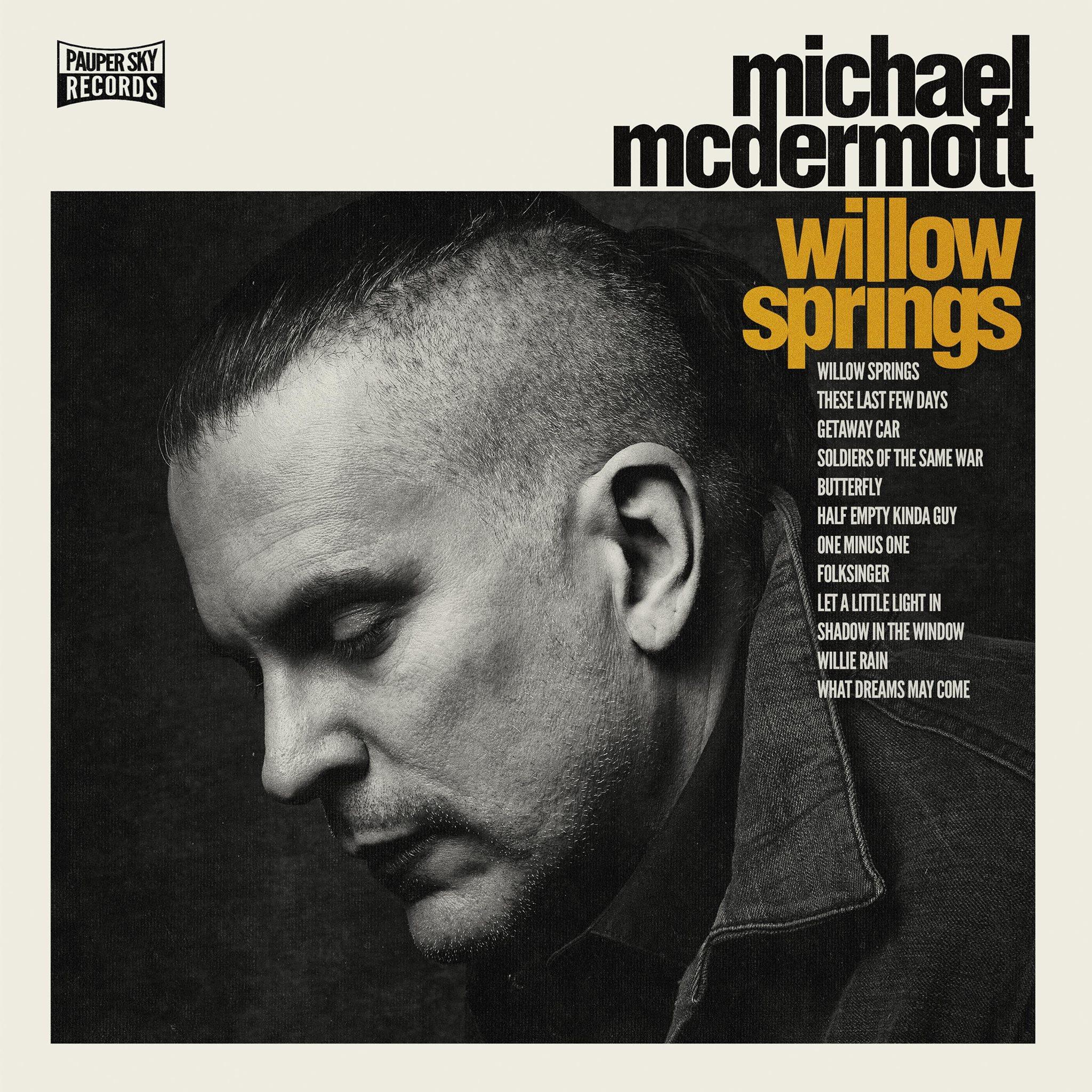 Michael McDermott naar muziekafdeling Vanderveen