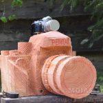 Mooiste kunstwerken uit boomstammen door kettingzagen
