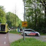 Fietser gewond na aanrijding op Asserstraat Rolde