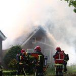 Veel rook bij Woningbrand Valthermond