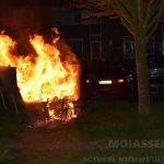 Afvalcontainer in de brand aan de Dotterbloemstraat in Assen – Oost