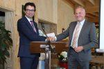 Uitreiking MVO certificaten en legpenning Assen.