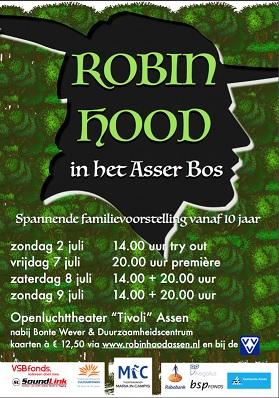 Robin Hood in het Asser Bos