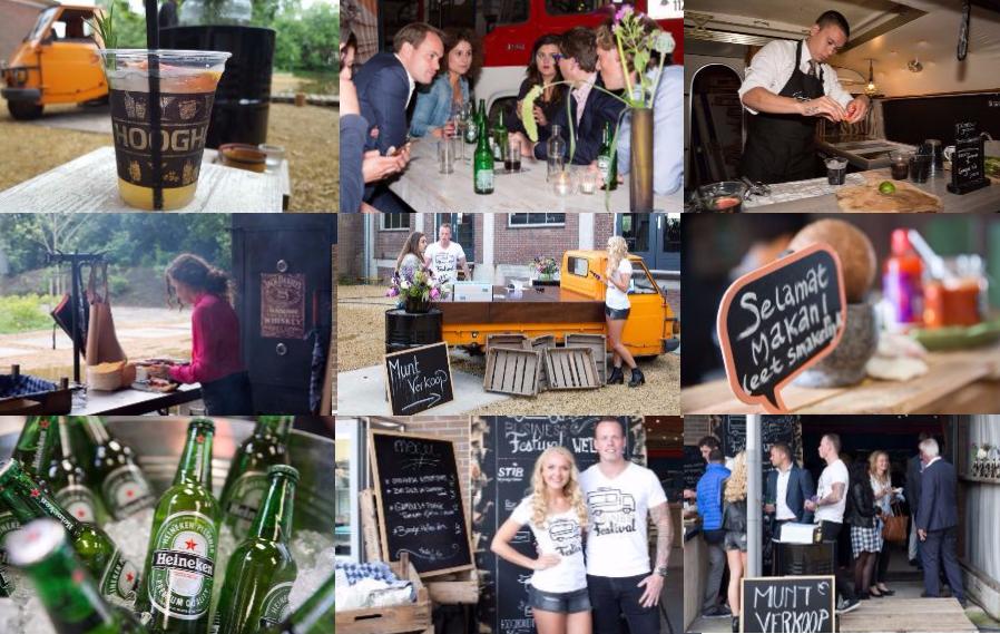 Zomerse sferen tijdens het Business Festival Drentse business clubs organiseren samen zomers festival