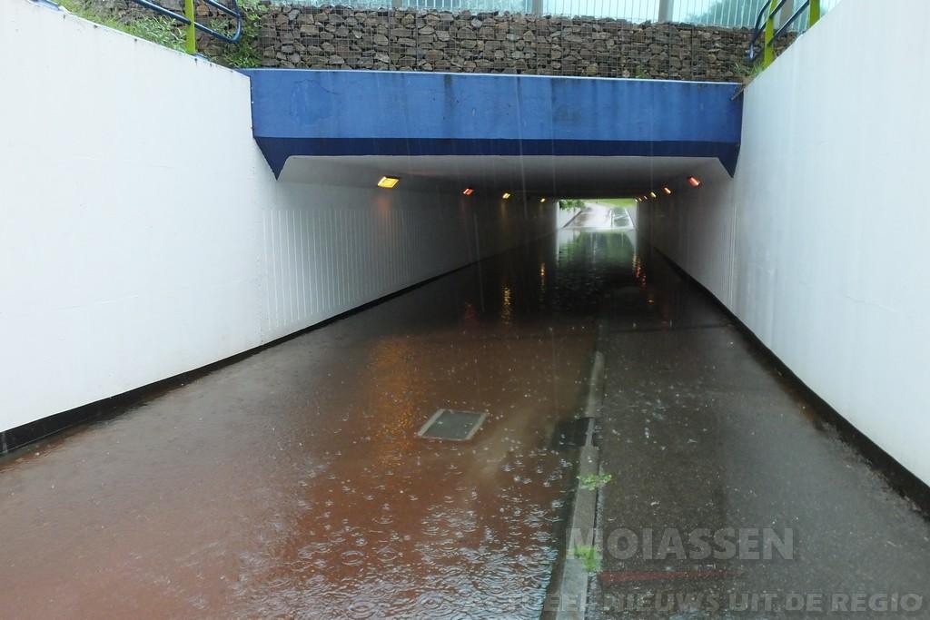 Lokale regenbuien zorgen her en der voor ongemak