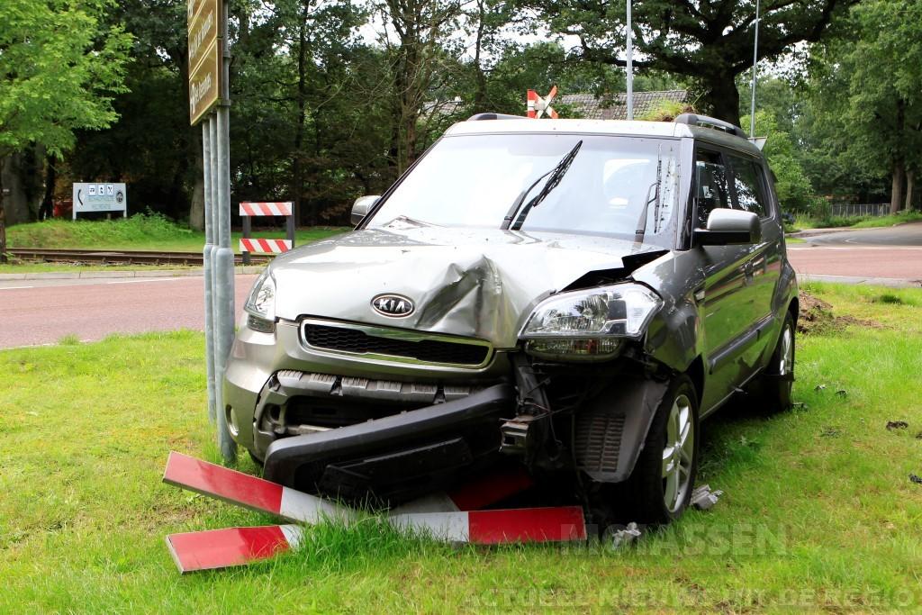 Verkeersongeval op de Provinciale weg in Eext