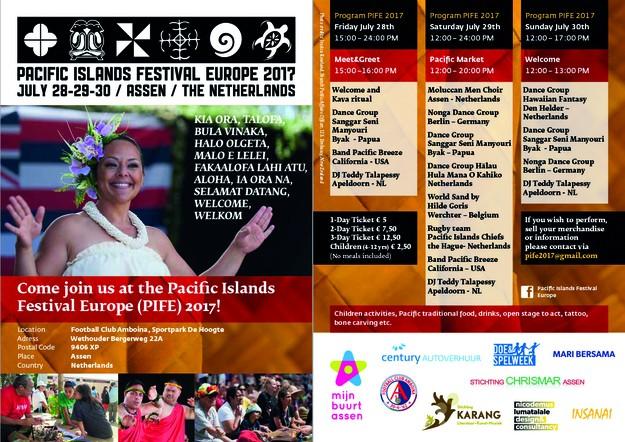 Pacific islands festival Europa 2017