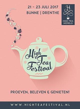High Tea Festival Bunne Komend weekend drie dagen proeven, beleven en genieten!