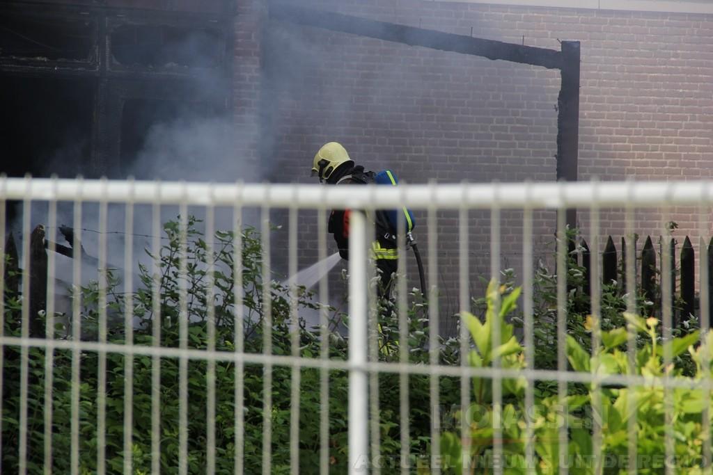 Brandweer voorkomt grote brand door snel optreden in Tynaarlo