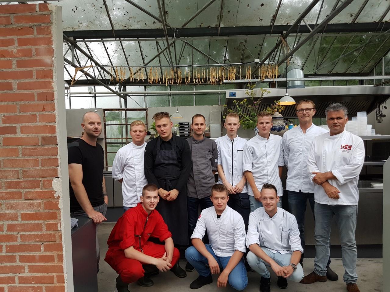 Ambitieuze koks Drenthe College volgen excellentietraject