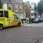 Scooterrijdster raakt gewond op Collardslaan in Assen