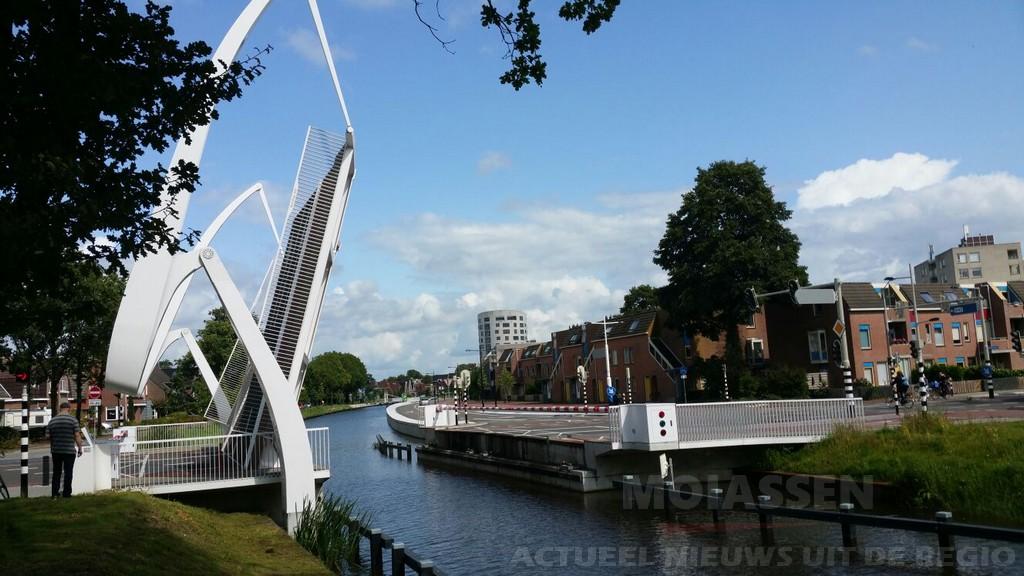 Weiersbrug aan de Weiersstraat in Assen werkt weer na storing