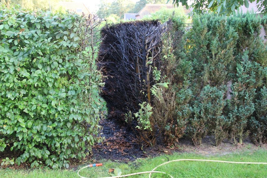 Twee buitenbranden in Loon