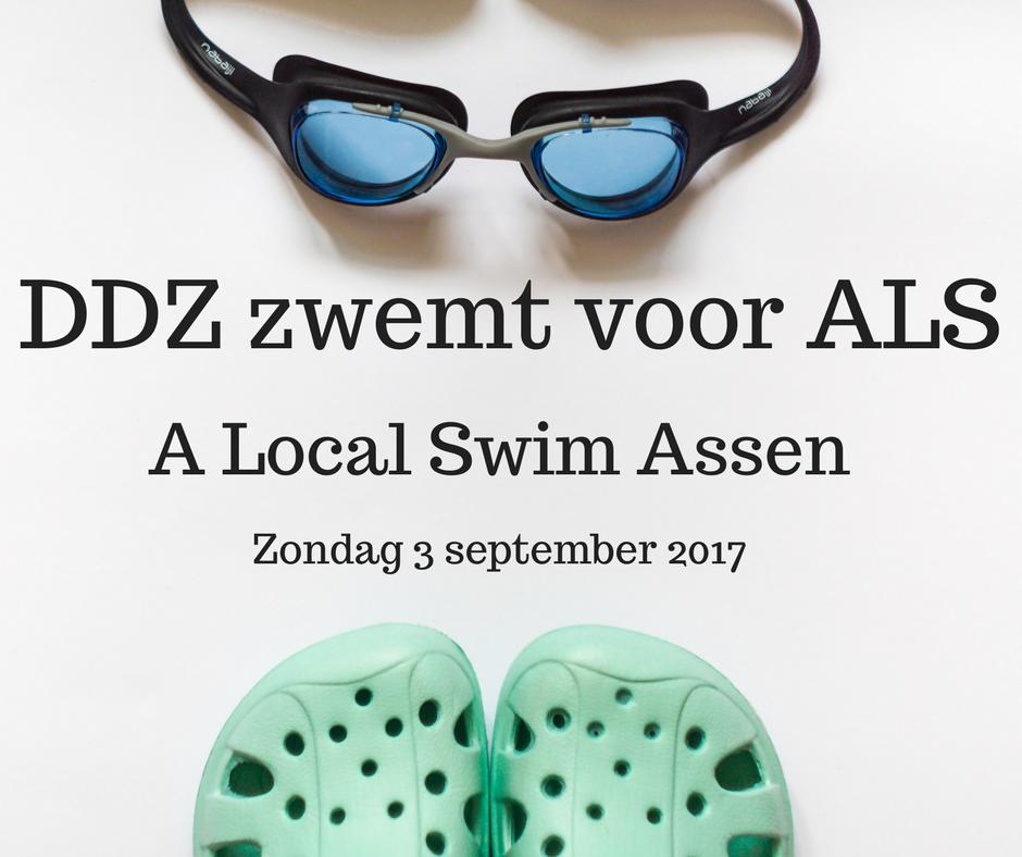 DDZ zwemt voor ALS