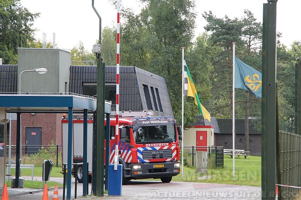 Gaslekkage bij Asielzoekerscentrum in Veenhuizen