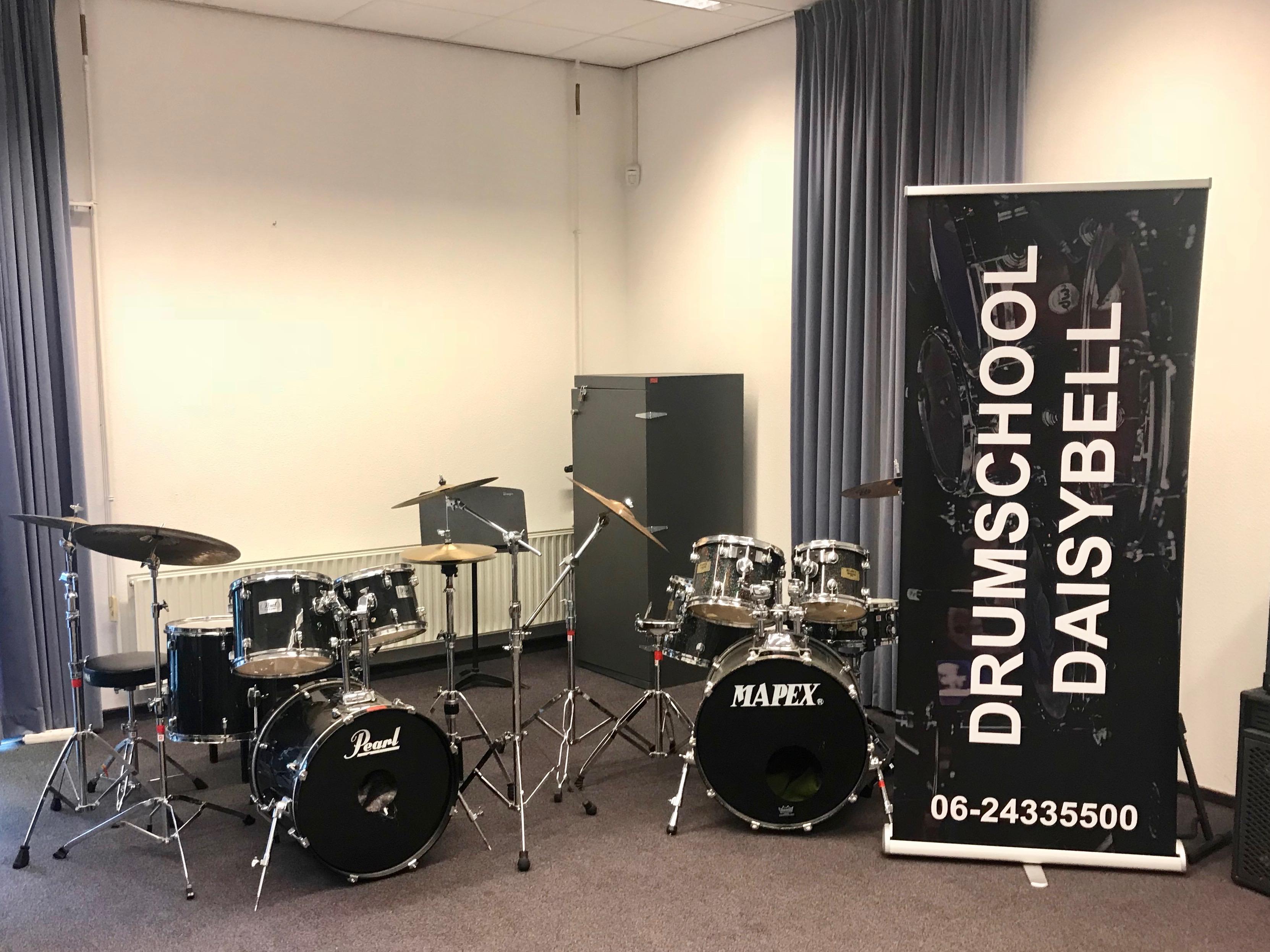 Asser Drumschool Daisybell is verhuisd naar Podium Zuidhaege