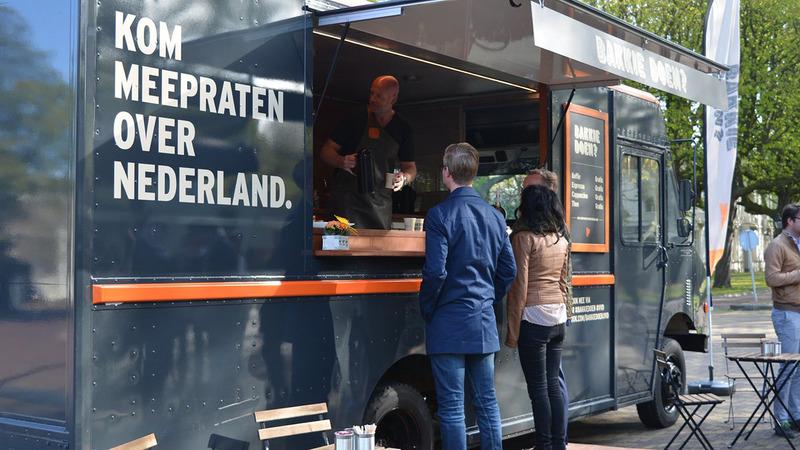 VVD koffietruck komt naar de Roldermarkt