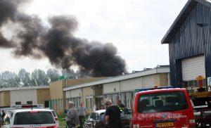 Gewonden bij uitslaande bedrijf brand in Nieuw-Buinen