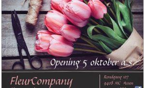 Fleur Company de nieuwe bloemenwinkel in Kloosterveen