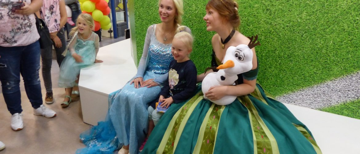 Meet & Greet met Anna en Elsa