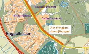 Start aanleg fietspad Europaweg-Zuid