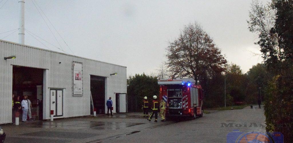 Brand bij meubelmaker aan de Mastmakerstraat in Assen