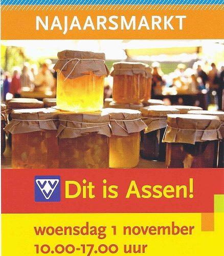 Najaarsmarkt Assen woensdag 1 november