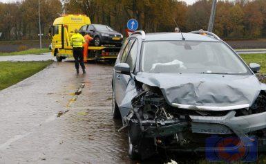 Wederom ongeval op beruchte oversteek Kostvlies / Ingenieur W.I.C. van Veelenweg N387 bij Gasselte
