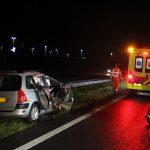 wee gewonden bij ongeval op A28