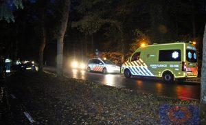 Ongeval op de Langeloërweg in Norg