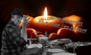 John B.Roffel van de Drentse band Mooi Wark overleden