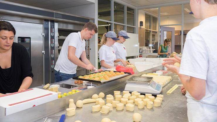 Marsepeindagen op het Alfa-college in Hoogeveen