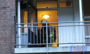 Brandje in woning aan Zuidenveld in de wijk noorderpark in Assen