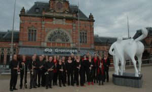 Clarinets Unlimited speelt in de Magnuskerk in Anloo