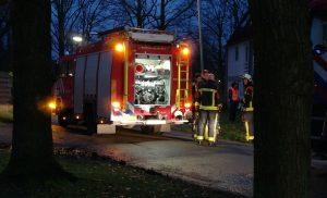 Brand in gebouw aan de Lindelaan in Assen