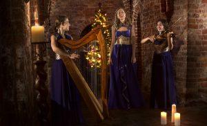 """Keltisch kerstconcert in Drents Museum """"A Celtic Christmas"""" van Merain"""