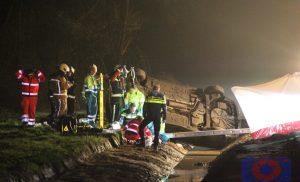Ernstig verkeersongeval aan de Beilerstraat in Hijken