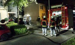 Weer taxi in brand aan de Stoepveldsingel in de wijk Marsdijk Assen