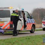 Vrouw valt in Noord-Willemskanaal in Assen