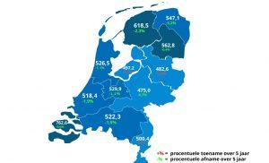 Inwoners Drenthe produceren veel afval