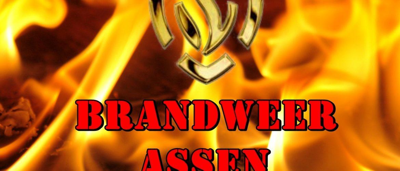 Auto gaat in vlammen op aan Hildegard van Bingenweg Assen