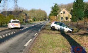 Forse ongeval op Hoofdstraat (N376) in Schoonloo
