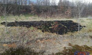 Opnieuw berm brand op het bedrijventerrein Messschenveld in Assen