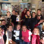 """Groep 8 leerling wint prijs bij 'Kraak de TerraVO kluis' """"Hartstikke tof dat ik gewonnen heb!"""""""