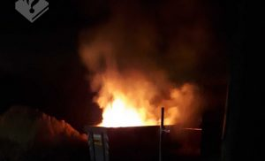 Wederom Containerbrand in Assen
