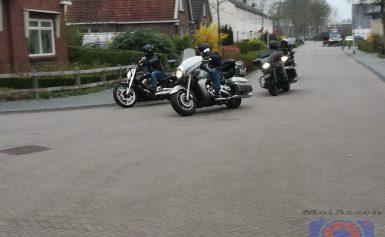 Duizend motorrijders vanuit de Molukse wijk vertrokken voor de Peringatan Ride Out
