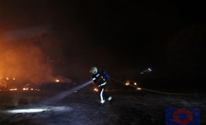 Natuurbrand nabij Baggelhuizerplas Assen(UPDATE FOTO'S)